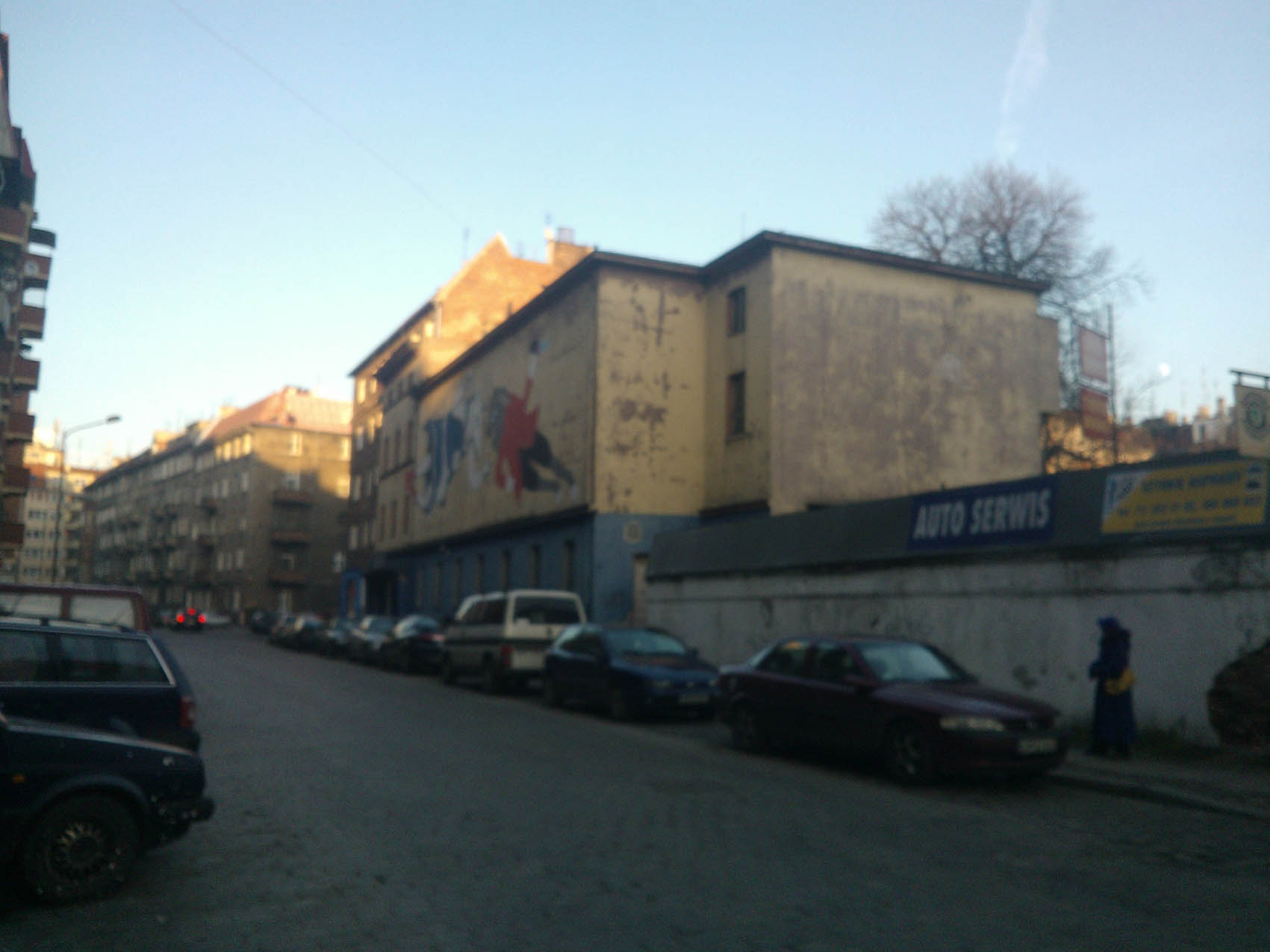Residential and commercial building Wrocław, Żeromskiego St. Investor: Inter System. Surface: 3 526 m2 – BEFORE RENOVATION