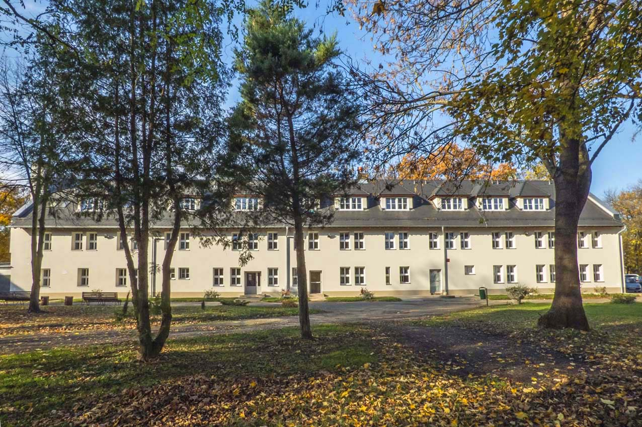Thermo-modernization with the reconstruction of the boarding house in Krzyżowice
