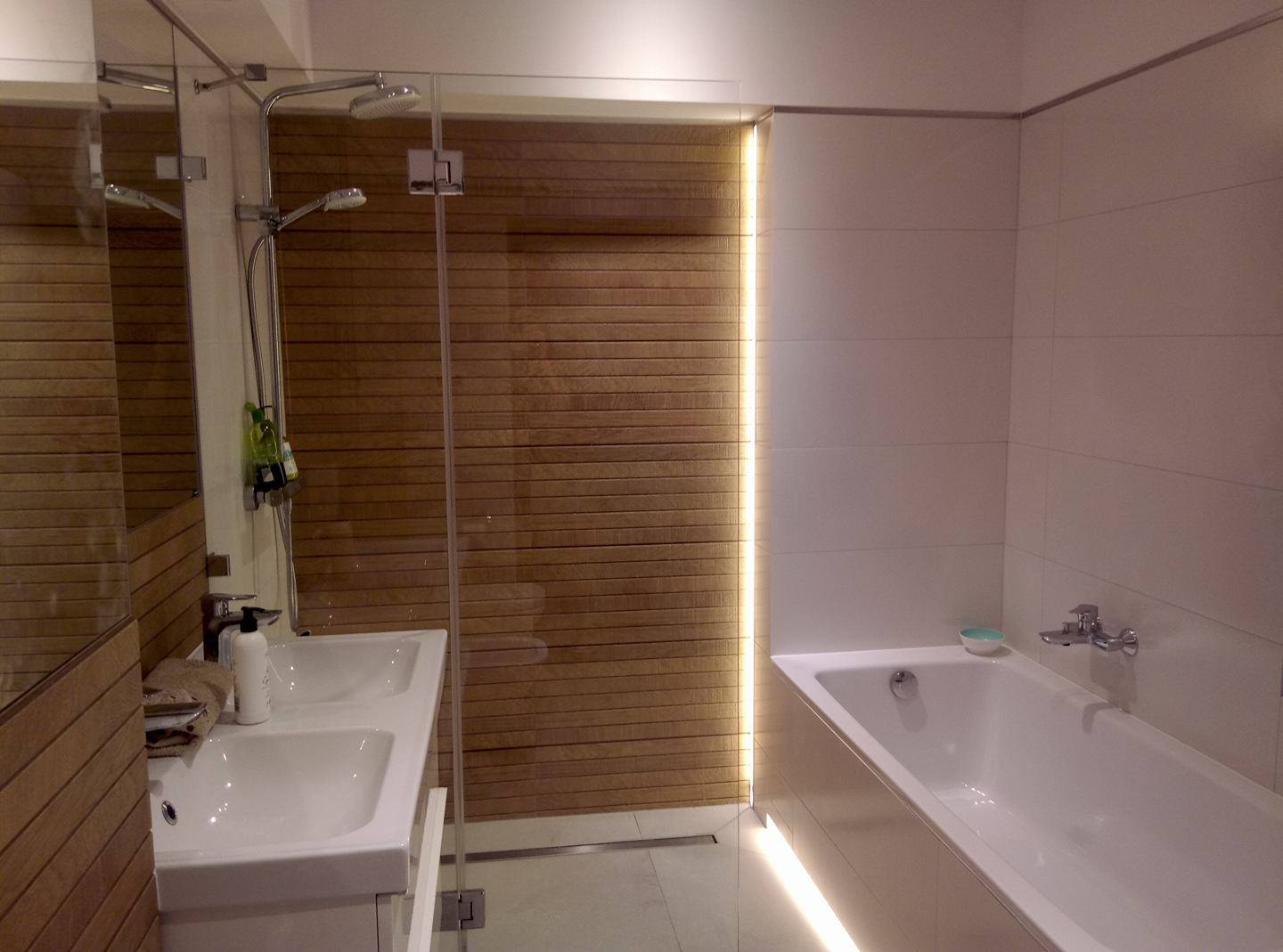 Bath in a private apartment Surface: 7.2 m2