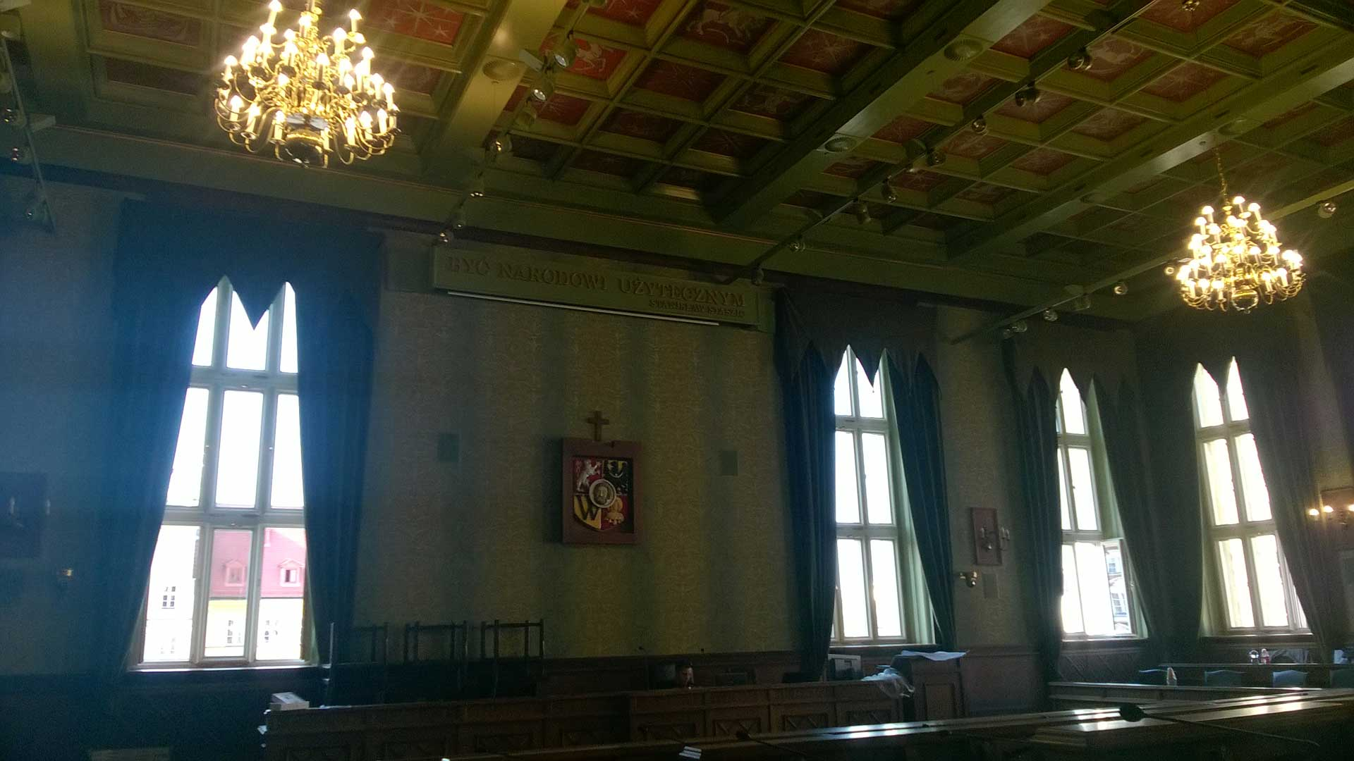 Renovation of the Session Hall of the City Hall in Wroclaw